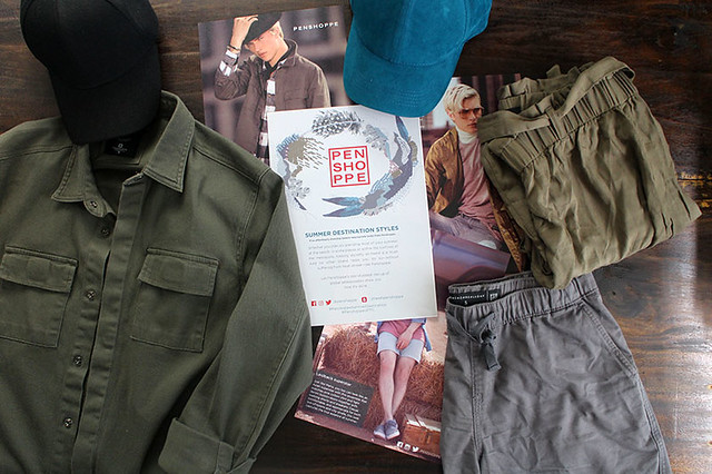 Penshoppe UP Town Center Duane Bacon Blogger Mens Wear Summer Ready
