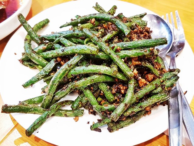 Stir-Fried String Beans With Minced Pork