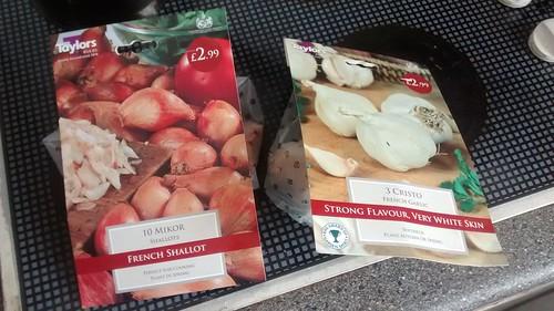 shallots and garlic Feb 17