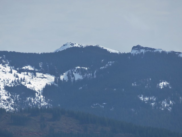 Silver Star Mountain and Sturgeon Rock