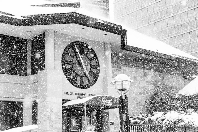 Blizzard and Clock