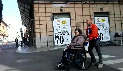 PER LE VIE DEL CENTRO DI PALERMO PER LA CAMPAGNA 5 PER MILLE 2017.