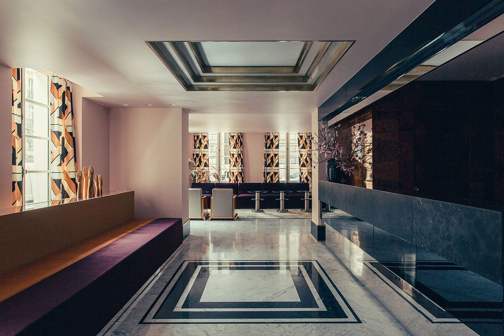 Elegant hotel Saint-Marc in Paris by the Milan design agency DIMORESTUDIO Sundeno_06