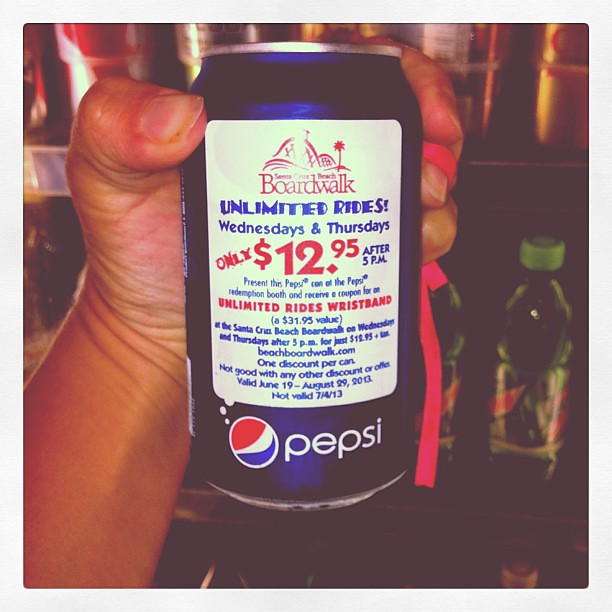Boardwalk Pepsi Nights Have You Seen These Specially Marked Cans In Your Favorite Stores