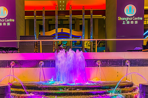 Fountain @ Portman Shanghai Centre | by David Leo Veksler