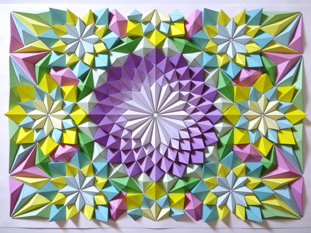 Flower Tessellation Template 62433