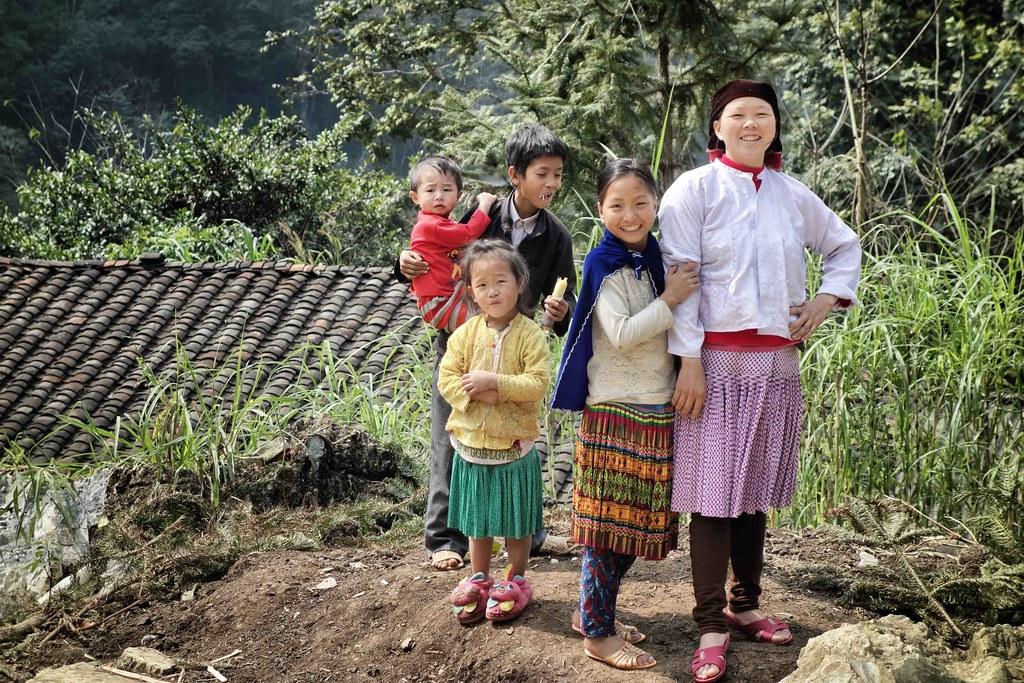 Van Chai Village - Famille