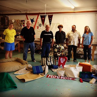 Here are my classmates and all the great stuff we made! #diy #boat #canvaswork #woodenboat | by kindreds unite