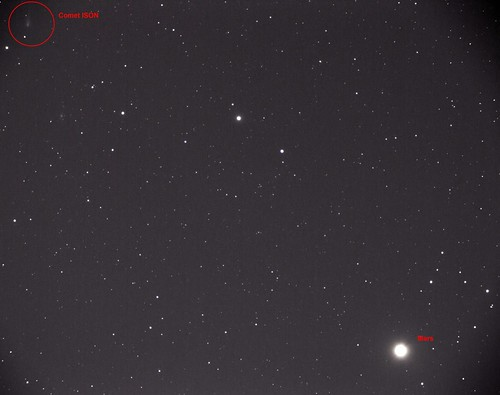 ISON and Mars - October 2 2013 | by akoutso