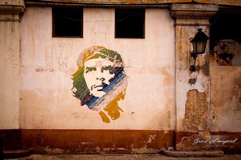 Che Guevara Mural - Cuba
