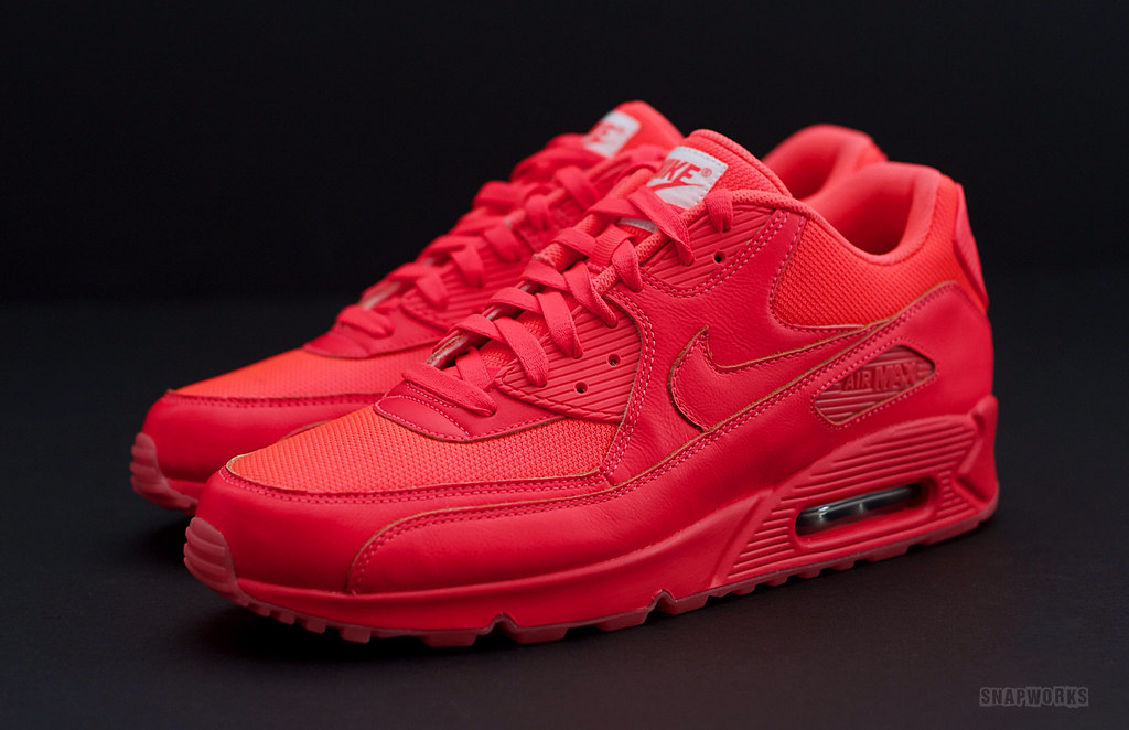 the latest c1587 661ff ... buy nike air max 90 solar red a6647 4db94