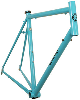 Gunnar Sport in Turquoise with Black Bullseye Decals - Front View | by Gunnar Cycles