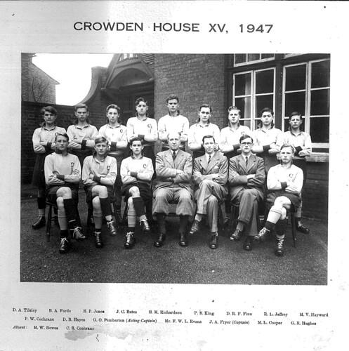 Cranbrook School Shooting Team 1947