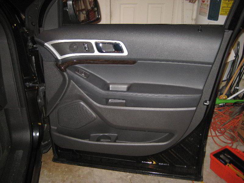 2014 Ford Explorer Suv Front Passenger Interior Door Pan Flickr