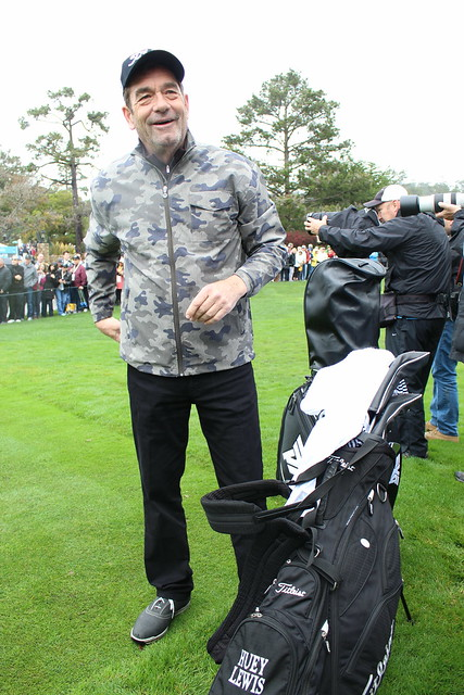 Huey Lewis at the 3M Celebrity Challenge