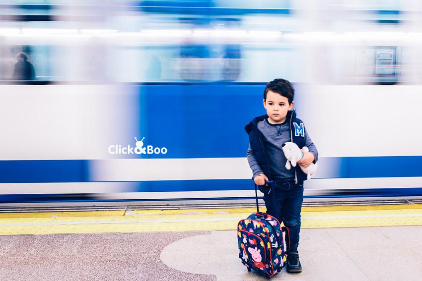 Viajando por el metro