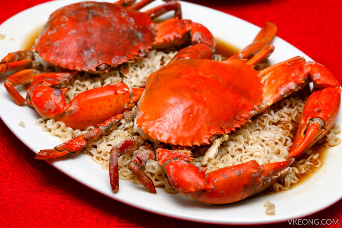 Maggi Noodle Steamed Crab