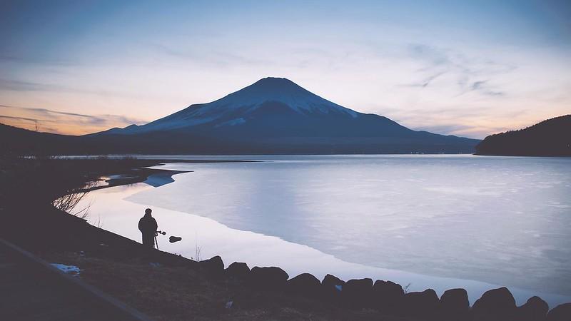 富士山_山中湖畔