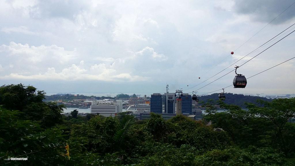 Näköala Southern Ridges -kävelyreitiltä, Singapore