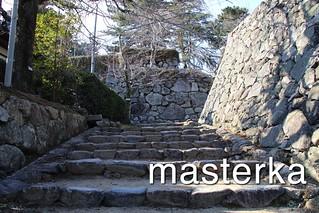 松阪城階段