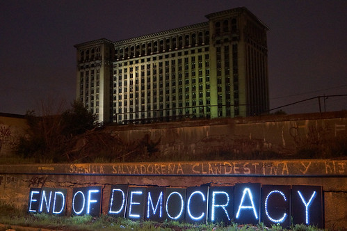 End of Democracy in Detroit
