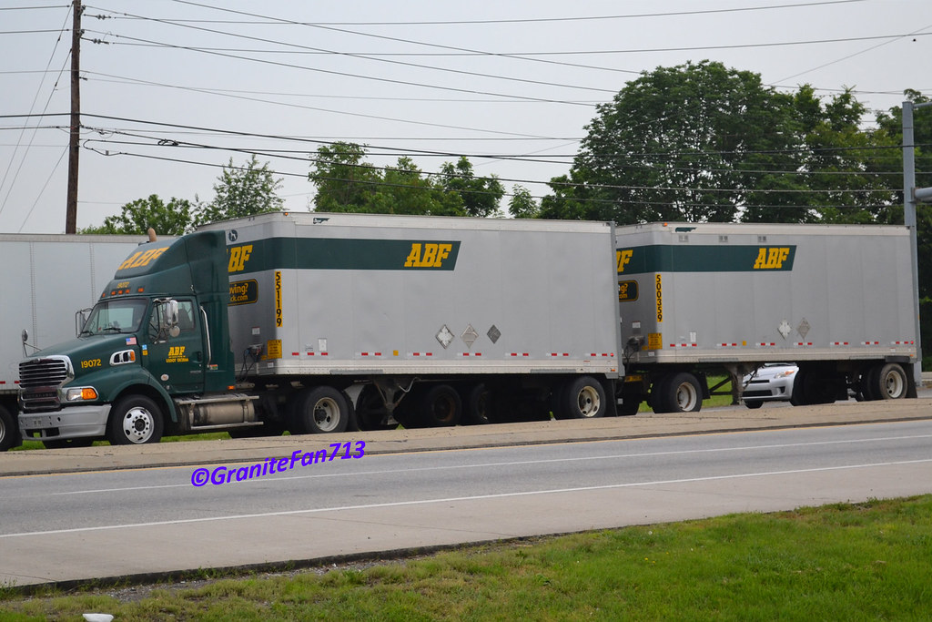 ... ABF Freight Sterling A9500 with Doubles | by Trucks, Buses, & Trains by granitefan713