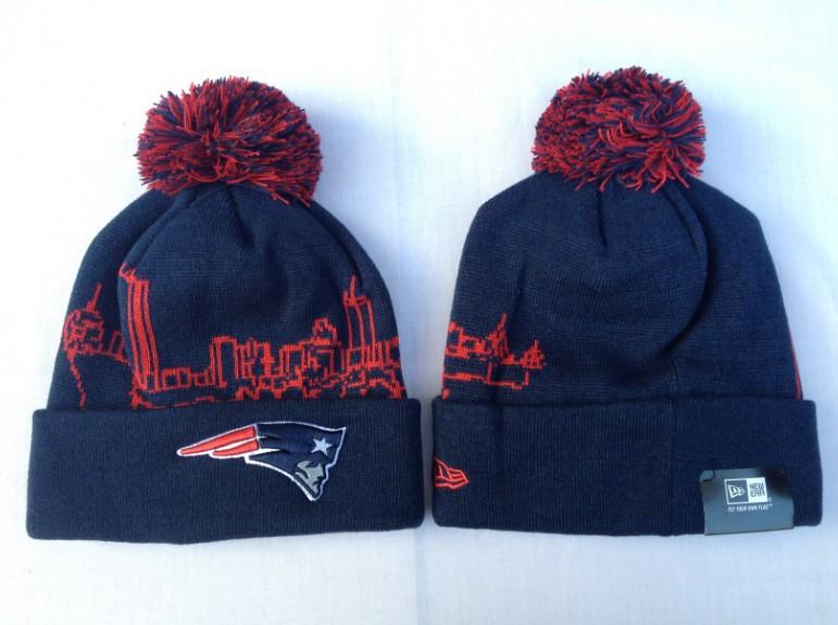 66788e674df ... New England Patriots Knit Beanie Hats Pom Sale Mens Winter New Era NFL  Caps