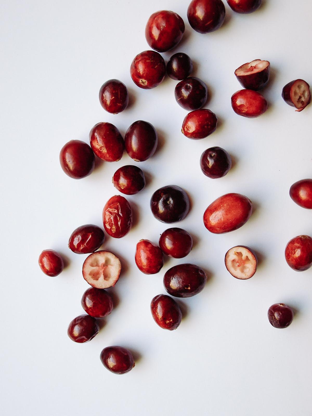 Cinnamon Cranberry Truffles