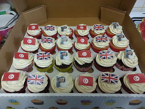 Personalised cupcakes with edible images | by platypus1974