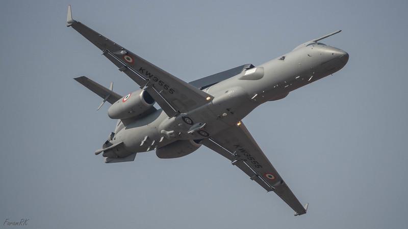 DRDO AEWACS (Embraer ERJ145 airframe)