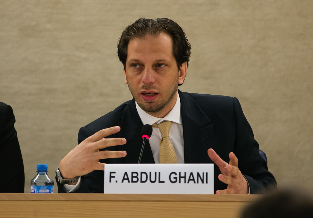 Fadel Abdul Ghani At The Human Rights Council