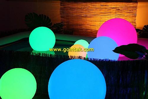 Impermeable led iluminaci n led decorativa bola grande - Iluminacion led decorativa ...