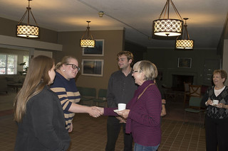 Tea with the visitor | by Baker University