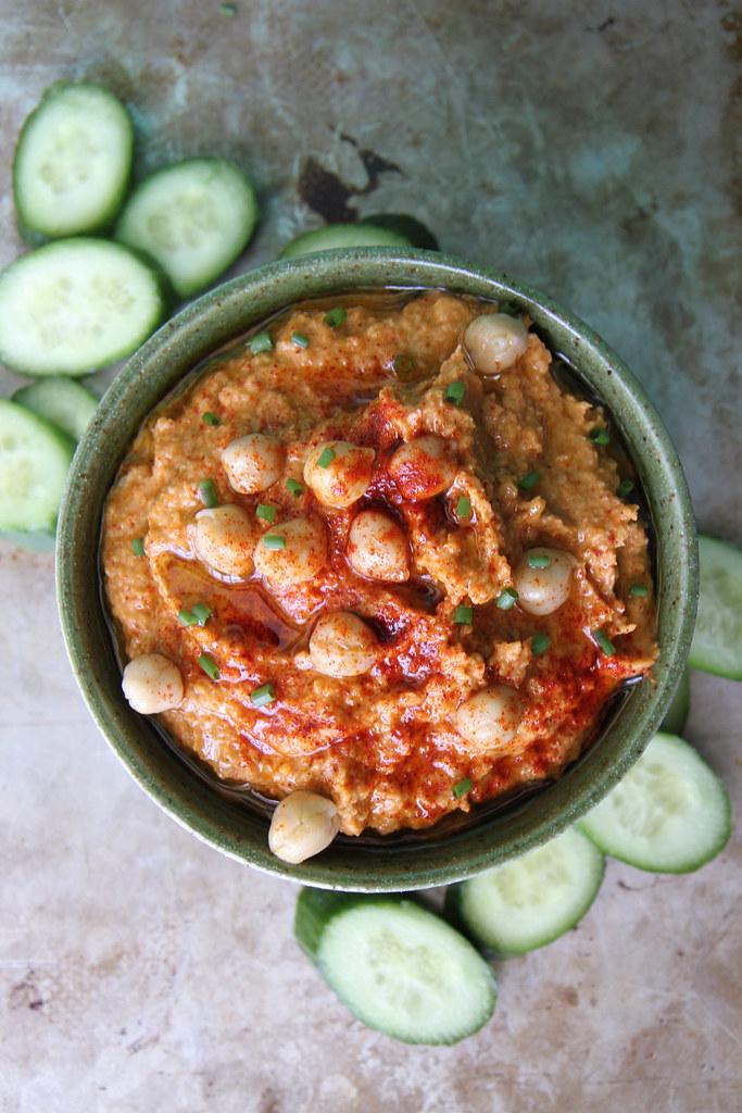Smokey Artichoke Hummus