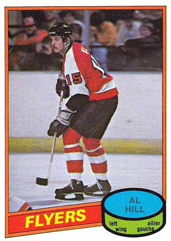 Hill had three straight seasons in the NHL from 1979-82