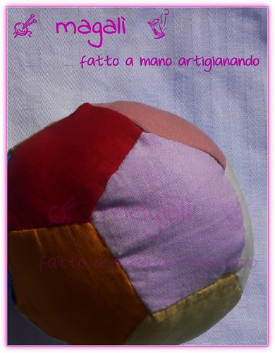 pallina arlecchina patchwork