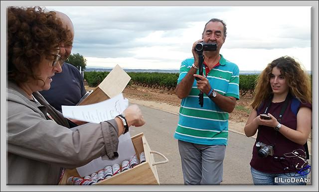 Uvas y Vino haciendo turismo del Vino 7