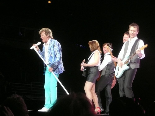 Rod Stewart | Rod Stewart and band members - J'Anna Jacoby ...