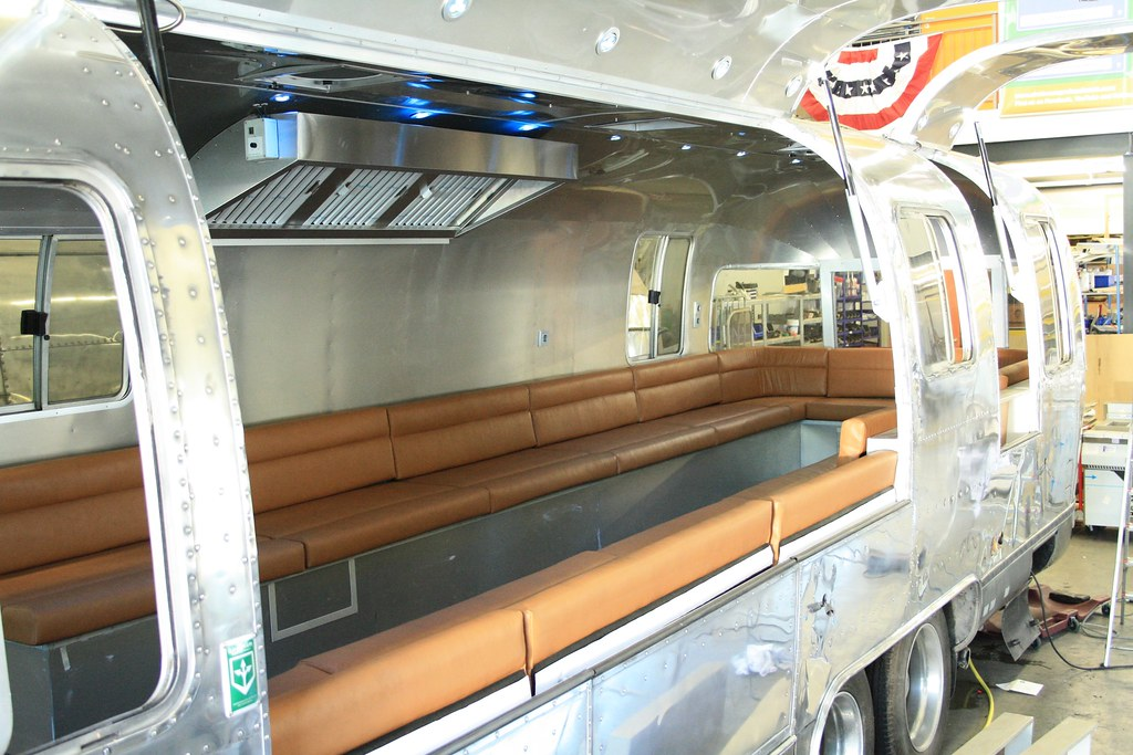 Airstream Food Truck With Lounge Interior