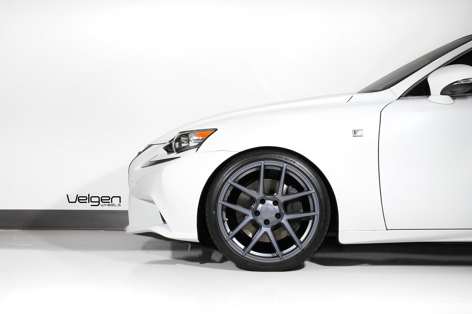 2014 Lexus Is350 On Velgen Wheels Vmb5 Matte Gunmetal 19x9