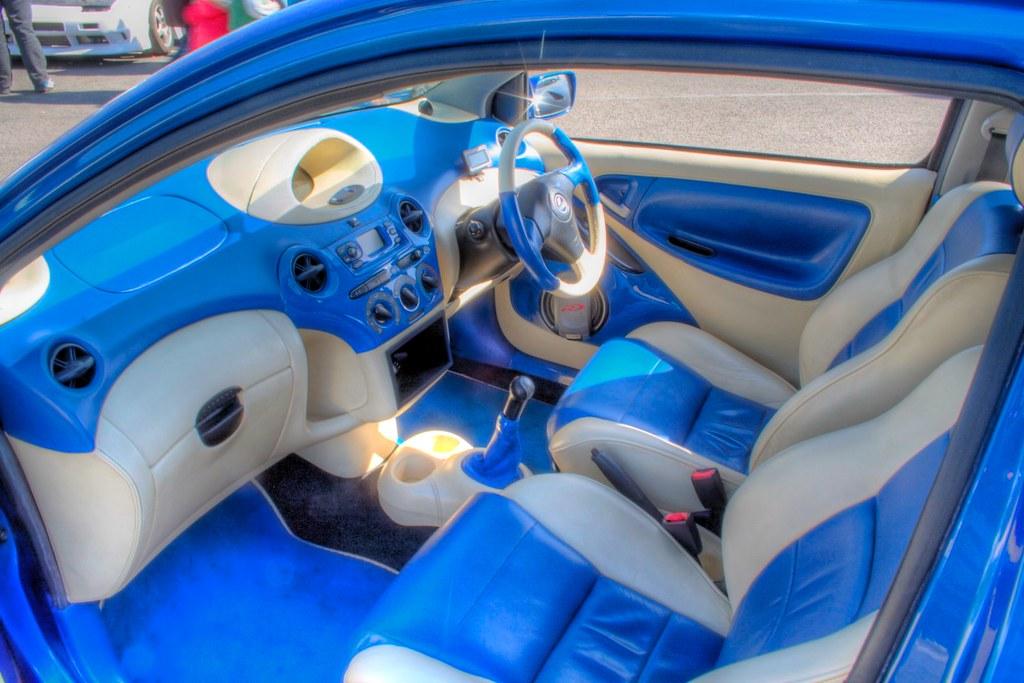 Car Interior Blue Cream Robbie Warner Flickr