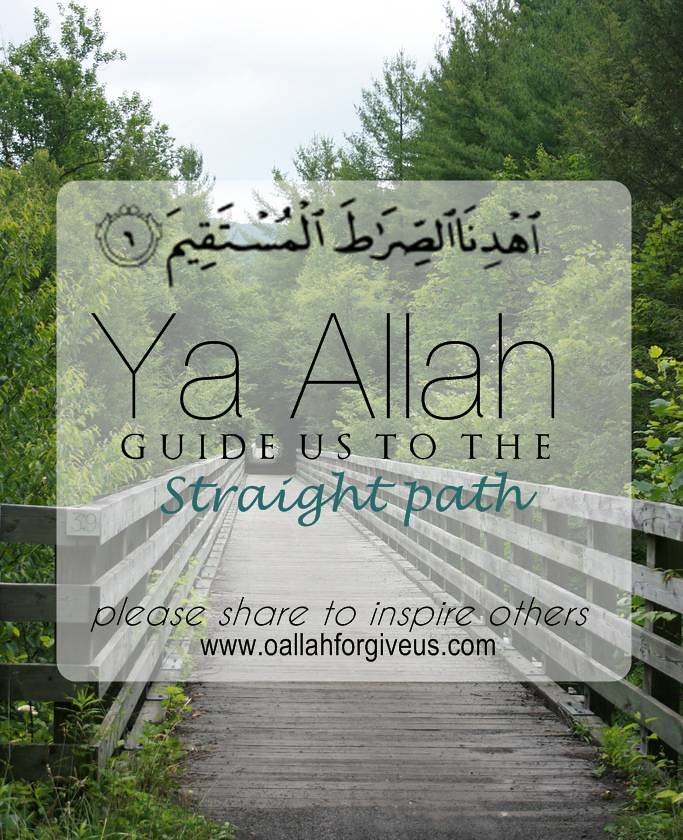 what is the straight path in islam