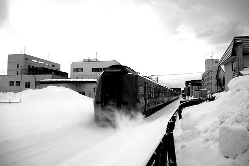 Wakkanai Station on FEB 25, 2017 (4)