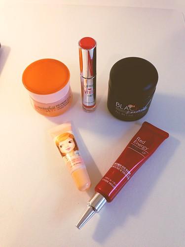 Korean cosmetic loot