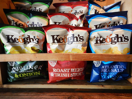 Irish potato chips in the Salt House, a Galway Bay craft beer pub in Galway, Ireland
