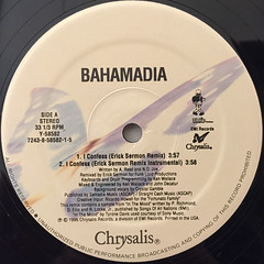 BAHAMADIA:I CONFESS(REMIXES)(LABEL SIDE-A)