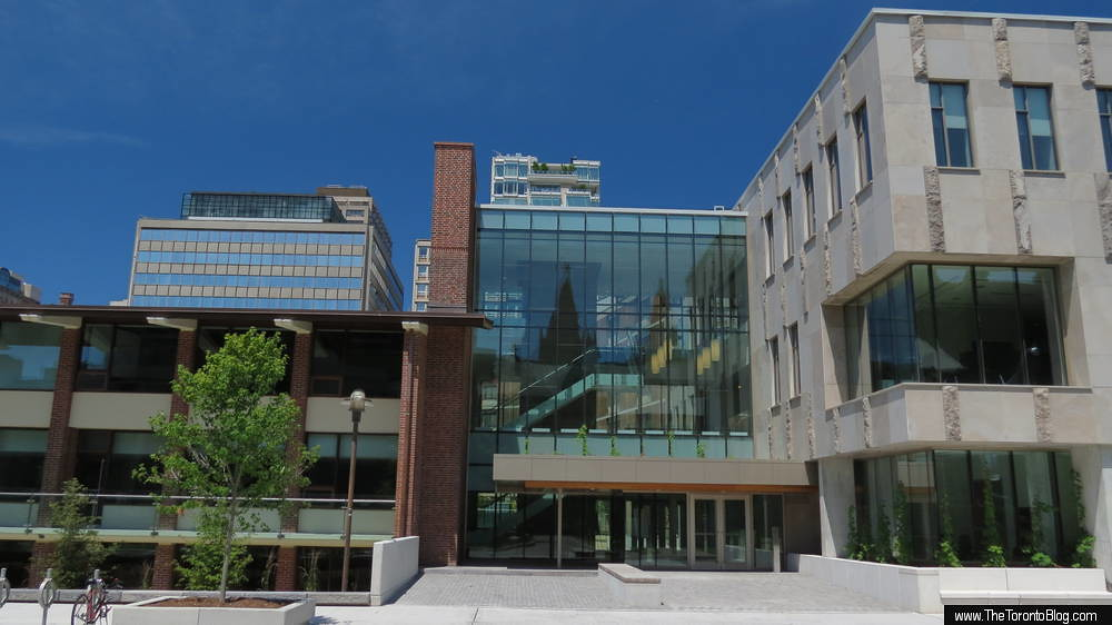 Goldring Student Centre at Victoria University U of T July…