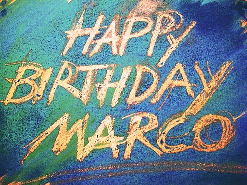 Happy Birthday Marco Elena Pellicoro Flickr