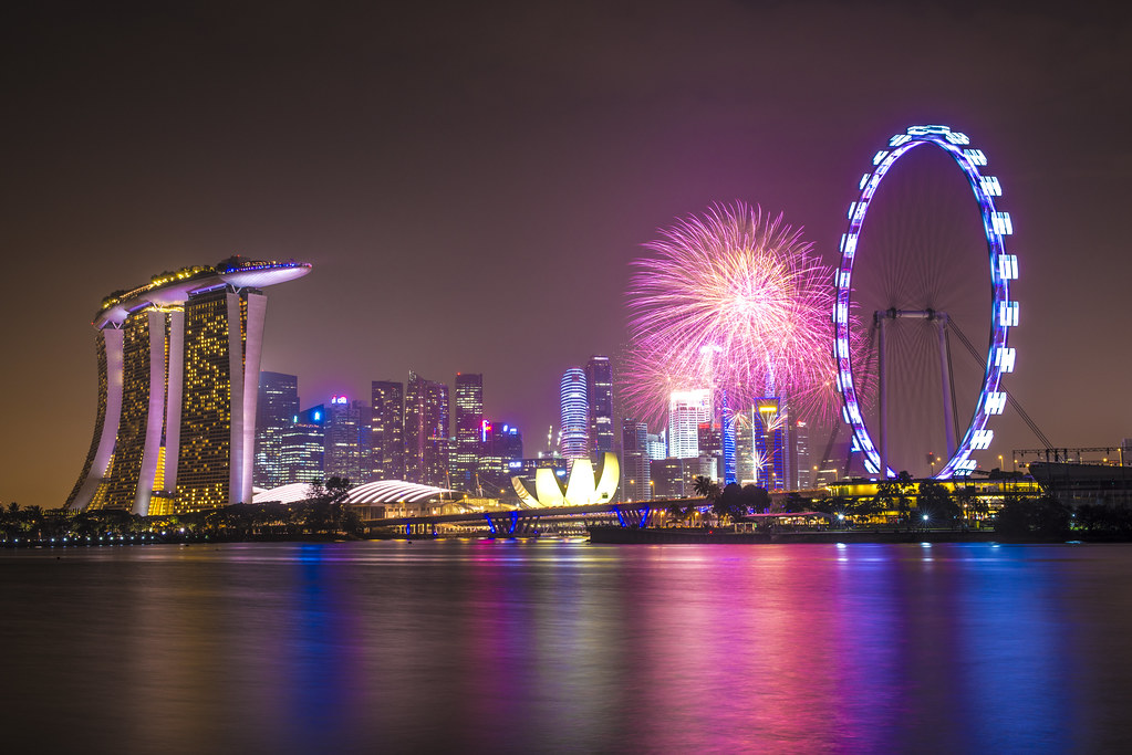 Ordinaire ... Singapore 2014 Countdown Firework | By Wang Guowen (gw.wang)