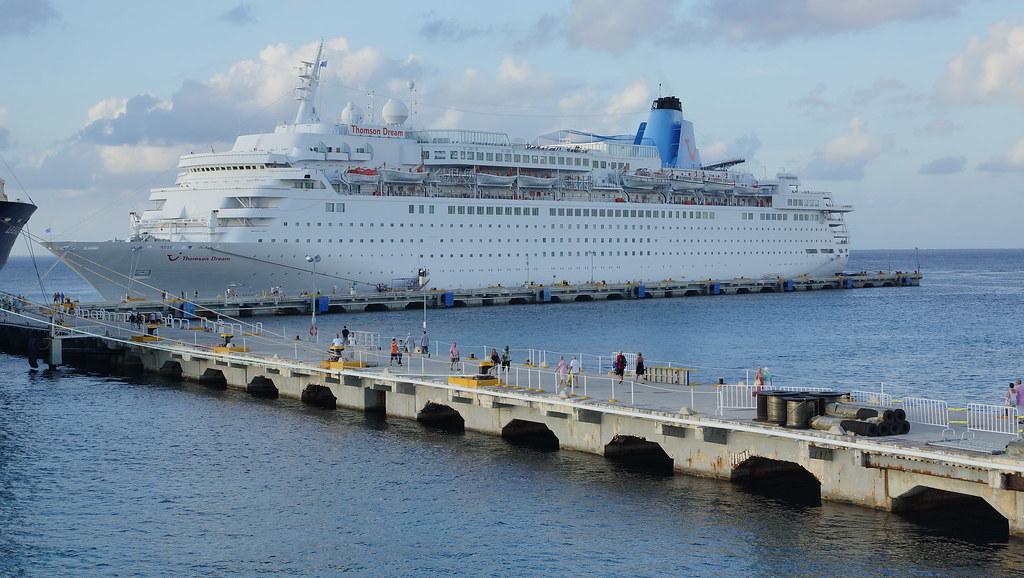 Thomson Dream Cruise Ship Cozumel In Mexico Andy Coe Flickr - The thomson dream cruise ship
